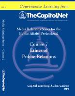 Ethics of Public Relations, Capitol Learning Audio Course