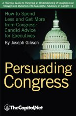 Persuading Congress – Establishing your Argument