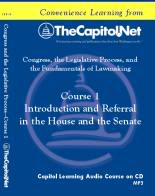 Introduction and Referral in the House and Senate, Capitol Learning Audio Course