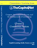 Committee Action, Capitol Learning Audio Course