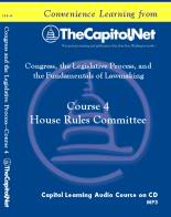 House Rules Committee, Capitol Learning Audio Course