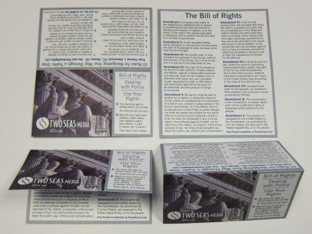 Wallet-sized Bill of Rights Card, from Two Seas Media