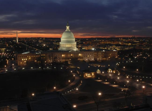 The Capitol at Sunset