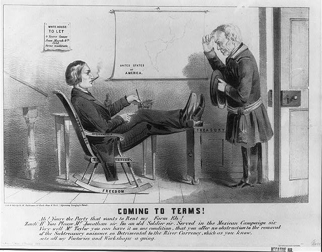 Coming to terms! by Henry Robinson, Library of Congress LC-USZ62-62674