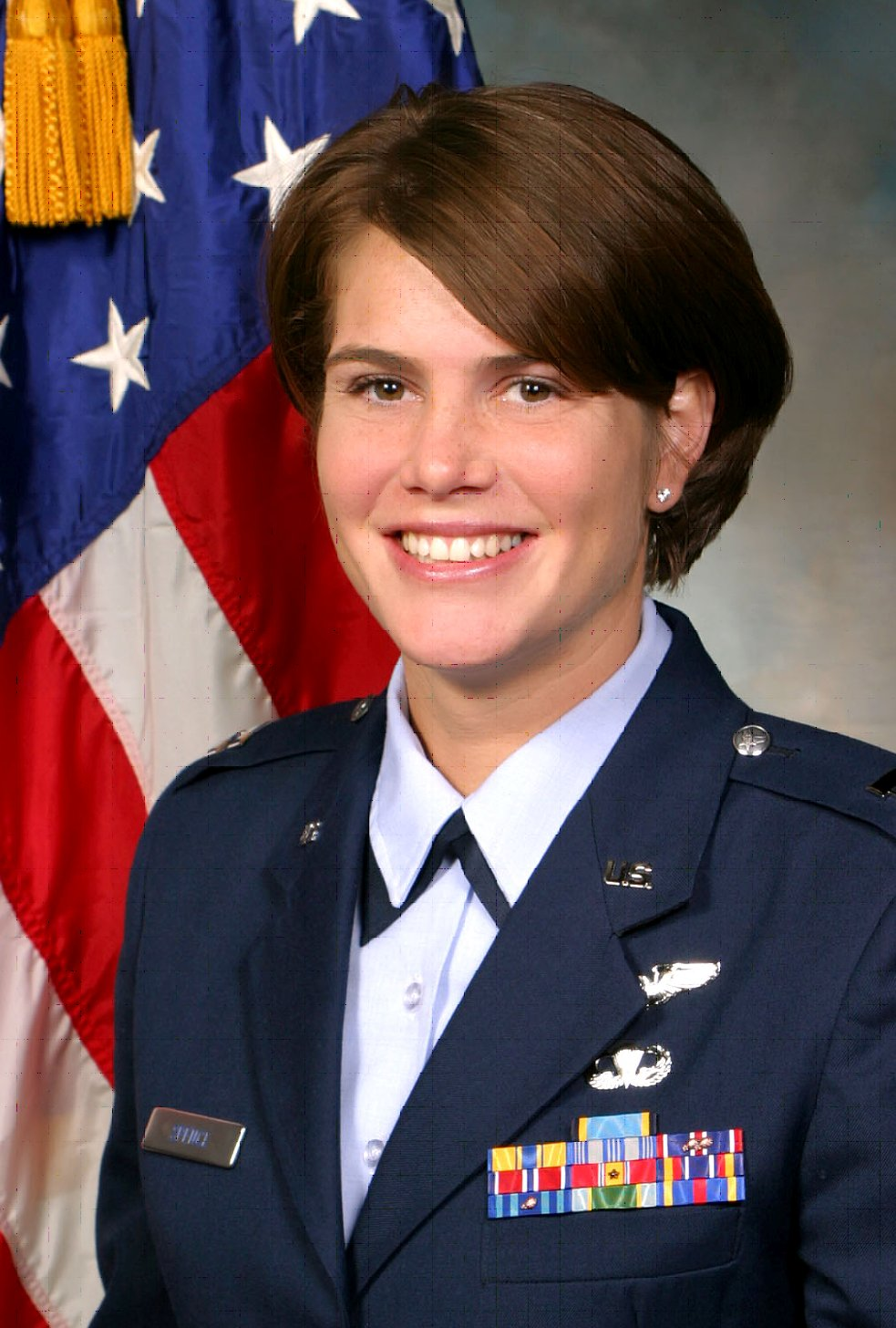 Major D'Anne Spence, USAF