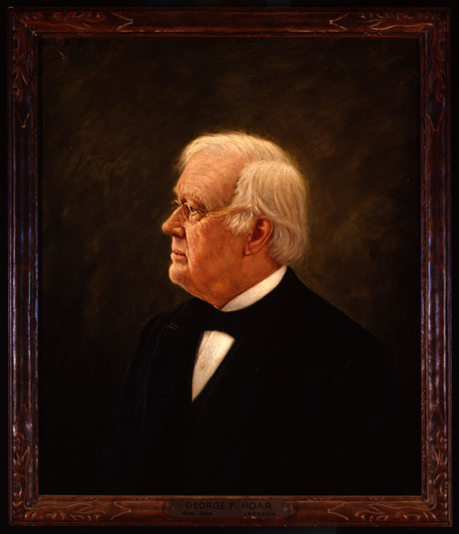 George Frisbie Hoar (1826-1904), 1905, Massachusetts Historical Society