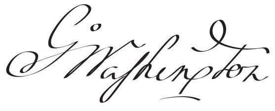 George Washington's signature