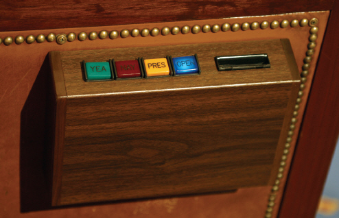 House Electronic Voting Station