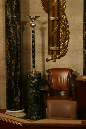 The Mace, Image courtesy of the Office of the Clerk, U.S. House of Representatives