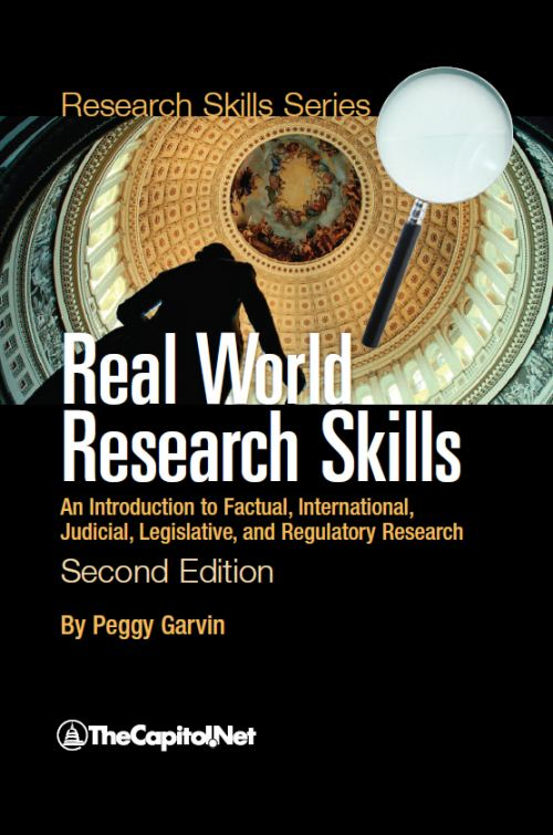 Real World Research Skills, 2nd Edition by Peggy Garvin
