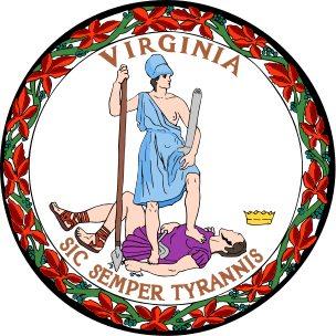 Seal of Virginia - Sic Semper Tyrannis