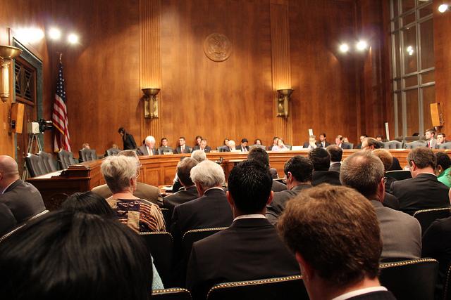 Senate Antitrust Subcommittee, by John Taylor