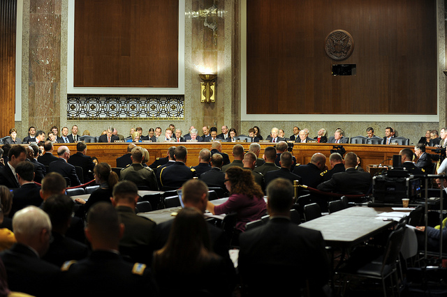 Senate Armed Services Committee, Nov. 10, 2011, by Staff Sgt. Jim Greenhill