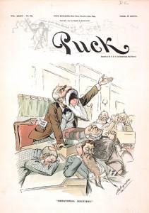 """""""Senatorial Courtesy"""" by Louis Dalrymple, Puck, October 18, 1893"""