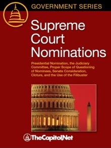 Filibuster, Cloture, Presidential Nominations, Article II Section 2 – CRS Reports