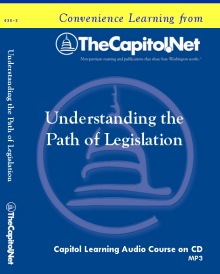 Understanding the Path of Legislation Capitol Learning Audio Course