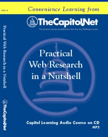 Practical Web Research in a Nutshell, Capitol Learning Audio Course