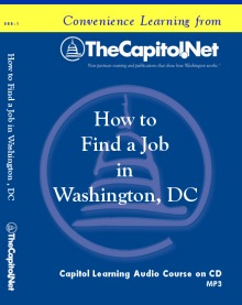 How to Find a Job in Washington, DC. Audio Course on CD