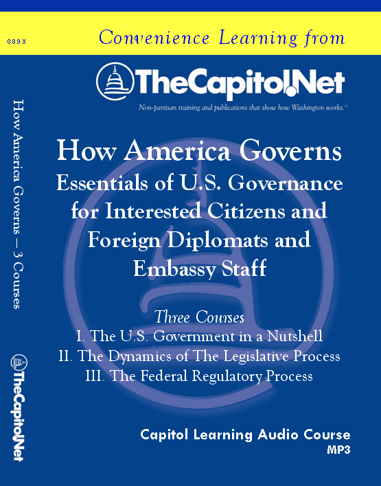 How America Governs: Essentials of U.S. Governance, 3 Audio Courses on CD