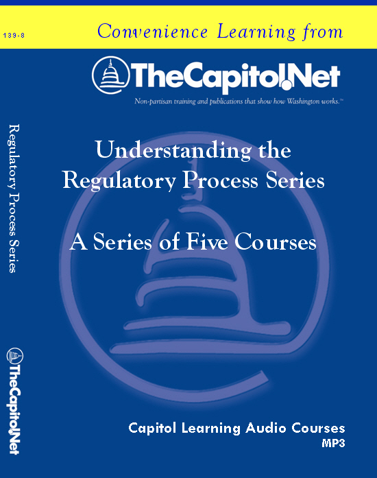 Understanding the Regulatory Process, 5 Audio Courses on CD