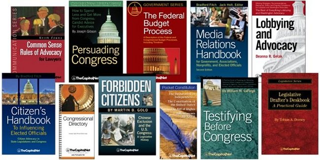 Sample of books published by TheCapitol.Net