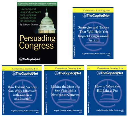 Working With Congress Bundle: 4 Audio Courses on CD, plus