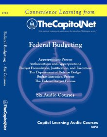 Federal Budgeting, Six Courses on Audio CD