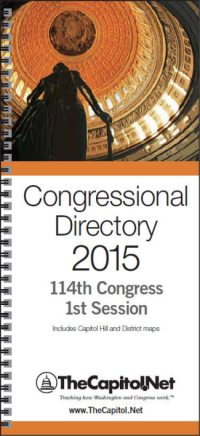 Congressional Directory 2015