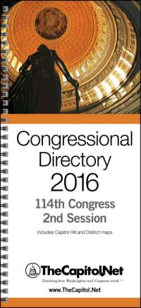 Congressional Directory 2016