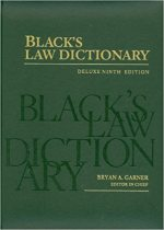 Black's Law Dictionary: Deluxe Ninth Edition