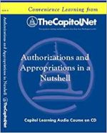 Authorizations and Appropriations in a Nutshell (Audio CD)