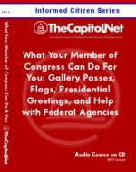 What Your Member of Congress Can Do for You