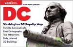 Pop-Up Washington DC Map by VanDam - City Street Map of Washington DC
