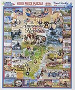 American Revolution 1000. Piece Jigsaw Puzzle