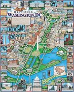 White Mountain Puzzles Washington DC 1000 Piece Jigsaw Puzzle