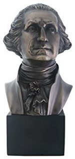 President George Washington Bust Statue Sculpture