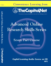 Advanced Online Research Skills, 7 Capitol Learning Audio Courses