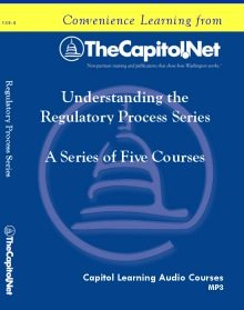 Understanding the Regulatory Process, a Five-Course Series on CD