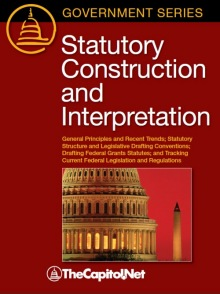 Statutory Construction and Interpretation (softcover)