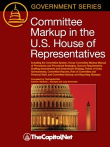 Committee Markup in the U.S. House of Representatives (softcover)