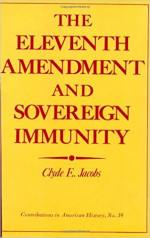 The Eleventh Amendment and Sovereign Immunity