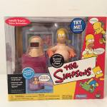 Simpsons Nuclear Power Plant Playset with Radioactive Homer