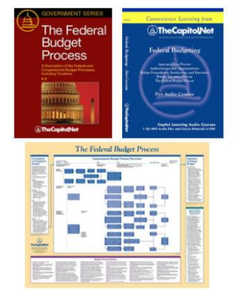 Federal Budgeting, 5 Audio Courses on CD