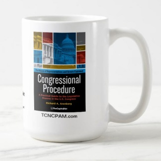 Congressional Procedure Mug