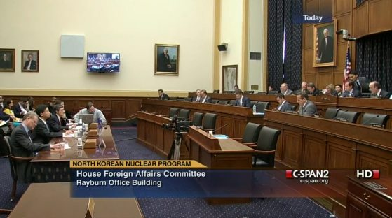 2013 House of representatives committee on Foreign Affairs hearing on North Korea's Nuclear Program