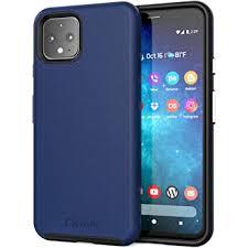 Crave Pixel 4a Case, Dual Guard Protection Series Case for Google Pixel 4a - Navy
