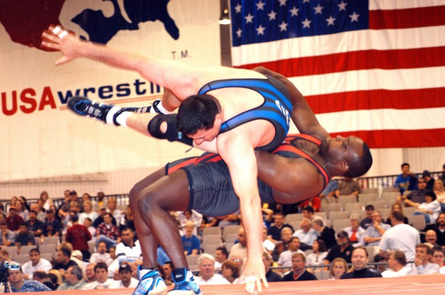 Byers set to wrestle world's best Greco-Roman heavyweights